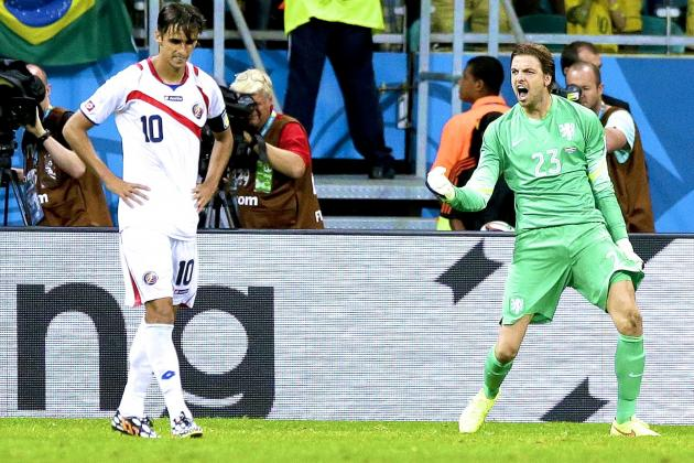 World Cup Daily Digest: Costa Rica's Magical Ride Ends as Van Gaal Gets It Right