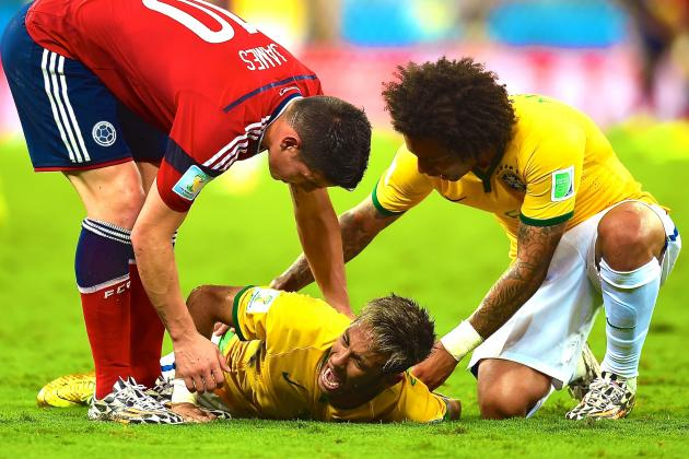 Collymore's World Cup Corner: Could Neymar Injury Be a Blessing in Disguise?
