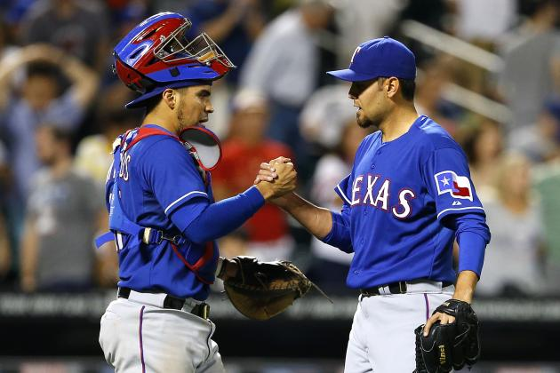 Rangers Power Past Mets 5-3 to Stop Slide