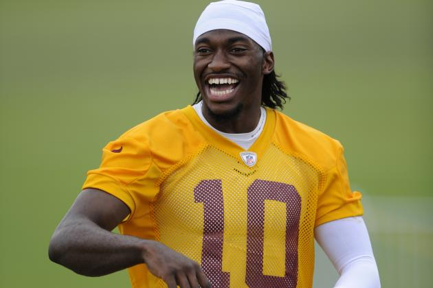 Sean McVay: Redskins' Robert Griffin III Looks Explosive