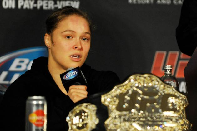 Ronda Rousey's Dominant Win over Alexis Davis Sets Stage for Cat Zingano Fight