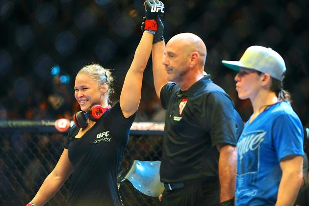 Ronda Rousey Cements Her Place as Most Terrifying Woman on Earth
