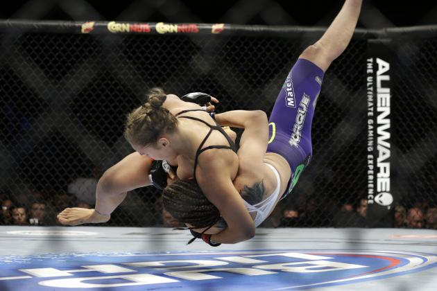 Rousey vs. Davis: 16-Second Beatdown Proves the Rowdy One's Dominance