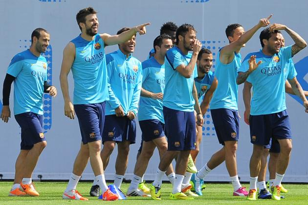 Barcelona Choose England's St George's Park for Pre-Season Camp