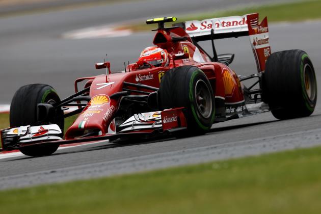 Ferrari's British GP Qualifying Gaffe Shows Big-Time Mentality with Midfield Car