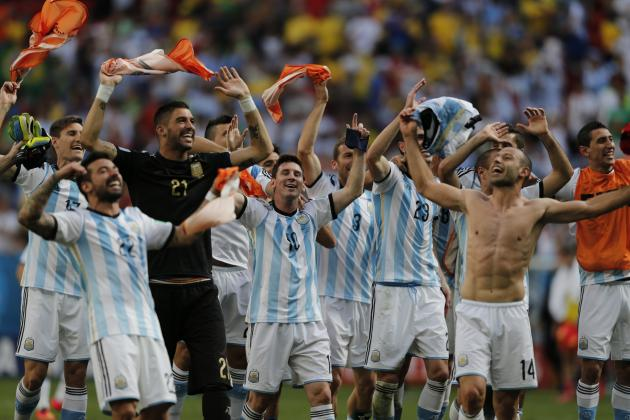 Netherlands v Argentina: Match Odds, Predictions for 2014 World Cup Semi-Final