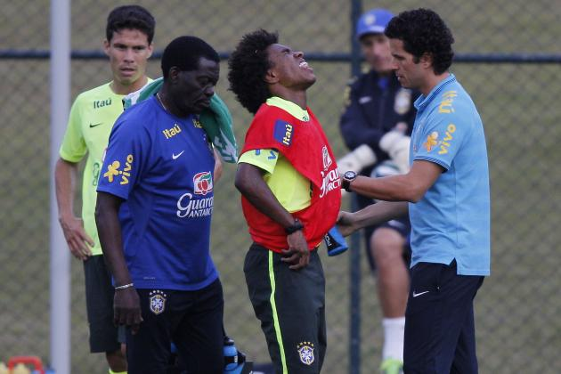 Willian Injury: Updates on Brazil Star's Back and Recovery