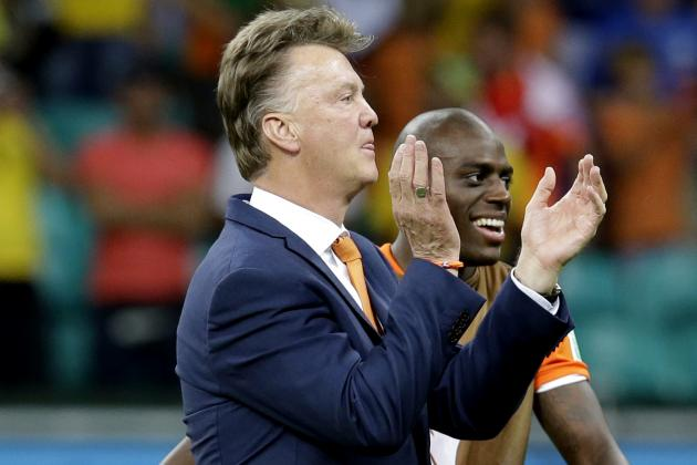 Louis van Gaal's Bold World Cup Tactics Boost Manchester United Belief