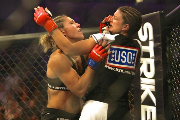 UFC 175: Cris Cyborg Tweets Picture of Gina Carano as Stern Warning to Rousey