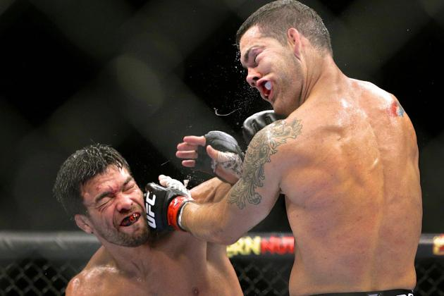 UFC 175: Chris Weidman Fought Injured, Claims He Had Worst Camp of His Life