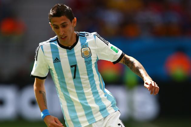 Angel Di Maria Injury Raises Tactical Questions for Argentina