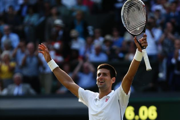 Wimbledon Tennis 2014 Men's Final: Top Moments from Djokovic vs. Federer