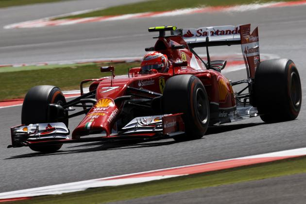 Kimi Raikkonen's Crash: Analysing Freak Red Flag Incident at 2014 British GP