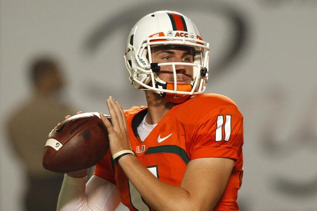 Miami 2014 Quarterback Fall Practice Preview: Depth Chart and Analysis