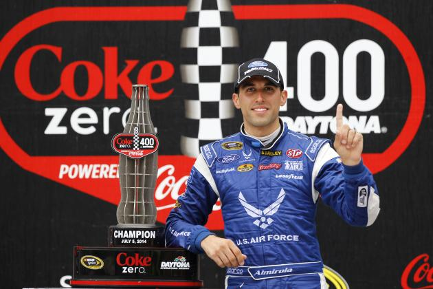 Should Rainy, Crash-Filled Win at Daytona Earn Aric Almirola a 2014 Chase Spot?
