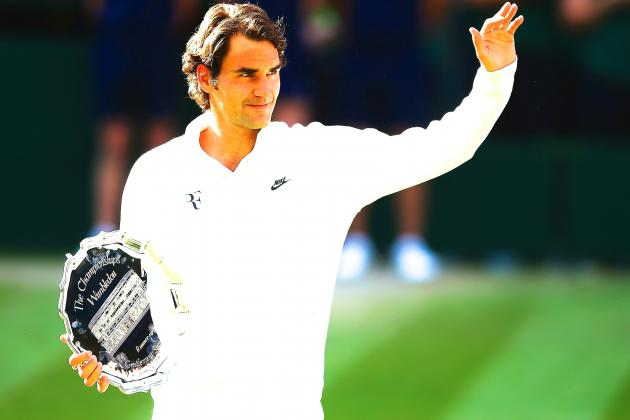 Roger Federer Adds to Legacy with Vintage Display in Tough Wimbledon 2014 Loss