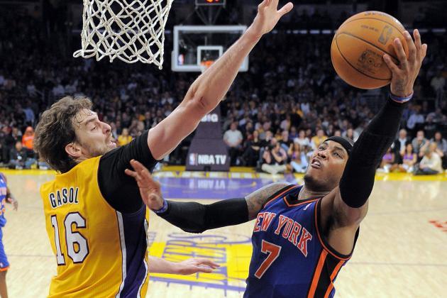 NBA Rumors: Latest News on Carmelo Anthony, Pau Gasol and More