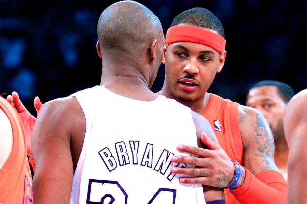 Lakers Offering Carmelo Anthony Max Contract All About Kobe Bryant