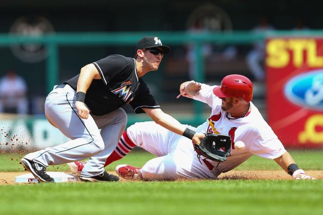 Alvarez Leads Way, Marlins Beat Cardinals 8-4