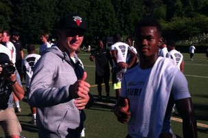 Manziel Meets A&M's Future QB