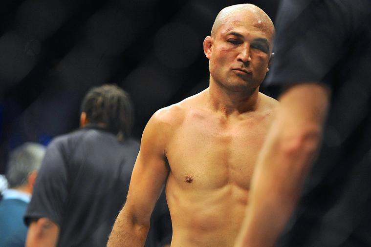 BJ Penn Announces Retirement from UFC Following Loss to Frankie Edgar