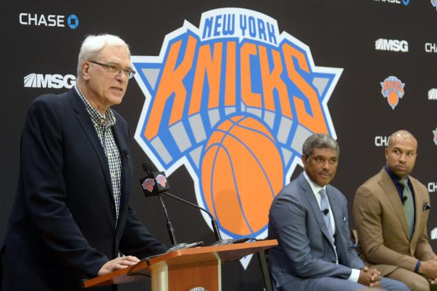 Will Phil Jackson's NY Knicks Legacy Be Defined by Carmelo Anthony's Decision?