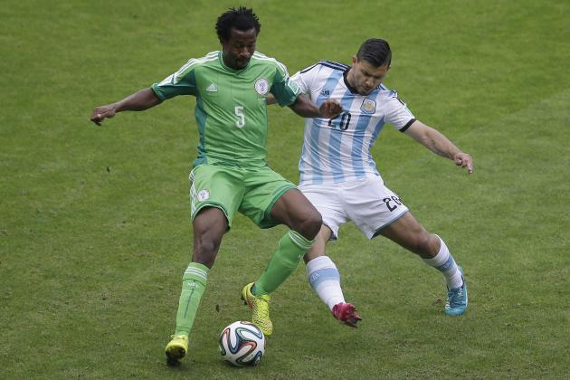 A Fit Sergio Aguero Should Start for Argentina vs. Netherlands