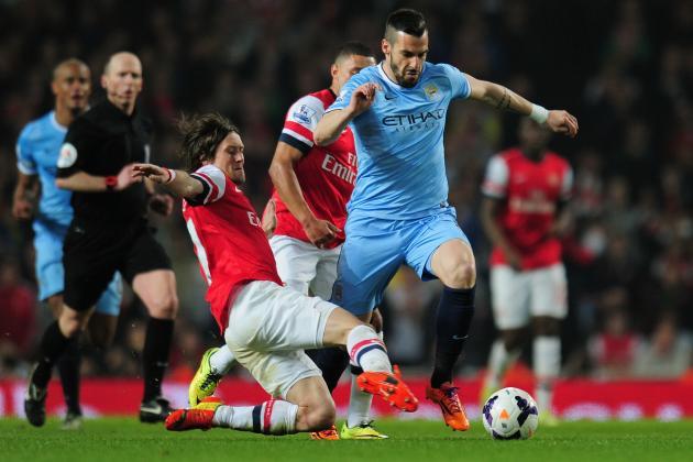 Manchester City in Strong Position in Alvaro Negredo's Atletico Negotiations