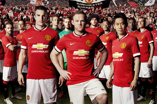 Manchester United Reveal New Nike Home Kit for 2014-15 Season