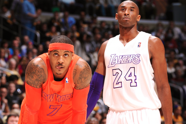 Pairing of Kobe, Melo Offers Chance to Reinvent Themselves in Unforeseen Ways