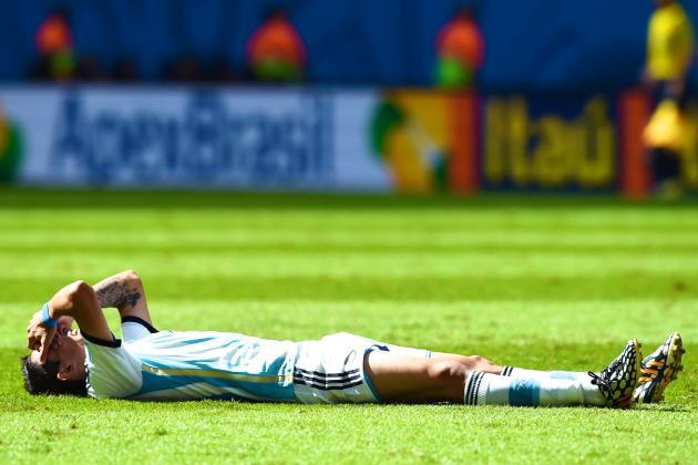 Angel Di Maria Injury Raises Tactical Questions for Argentina