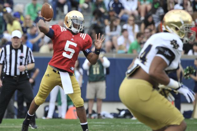 Notre Dame 2014 Quarterback Fall Practice Preview: Depth Chart and Analysis