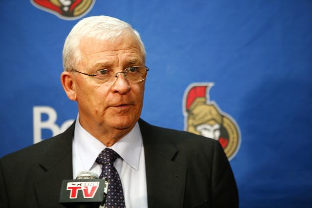 Senators GM Bryan Murray Diagnosed with Cancer