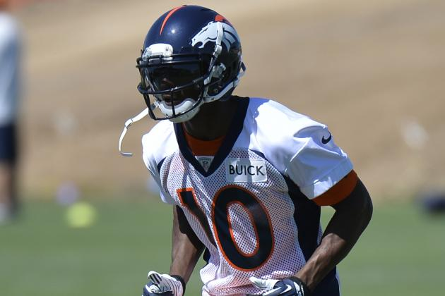 Why Emmanuel Sanders Is an Upgrade over Eric Decker