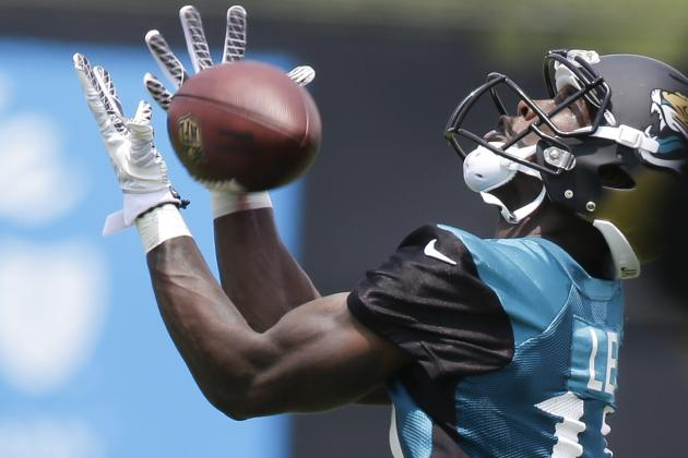 Marqise Lee Fitting in with Jaguars