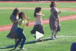 Crazy Elaine Dance Contest at Minor League Team's 'Seinfeld Night'