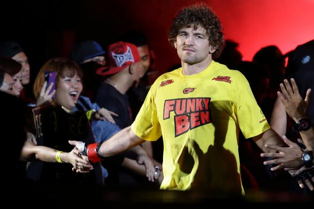 Ben Askren Rips Johny Hendricks and Dana White at TUF 19 Finale