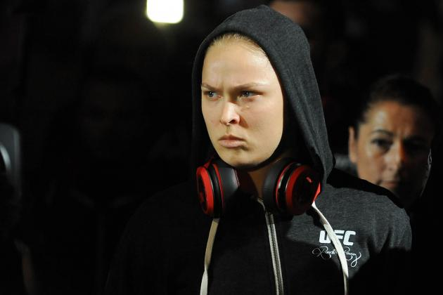 Ronda Rousey Nearly Sets UFC Record in UFC 175 Demolition of Alexis Davis