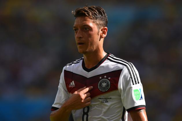 Brazil Clash Key Moment for Mesut Ozil, the World Cup's Most Polarising Player