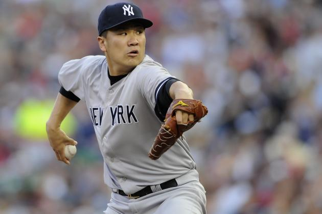 Yankees' Tanaka and Betances 1st Rookie Pitcher Teammates Selected as All-Stars