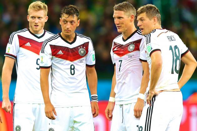 Why Brazil, Even Without Neymar, Are Germany's Toughest Opponents Yet