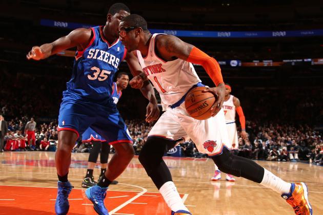 Rumor: Knicks, 76ers Talking Amar'e Deal