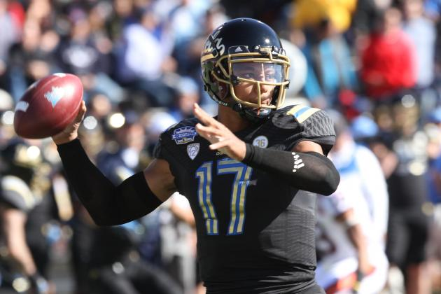 UCLA Bruins 2014 Quarterback Fall Practice Preview: Depth Chart and Analysis
