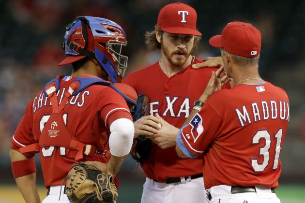 Mikolas Gets Rocked Early, Rangers Lose to Astros