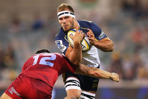London Welsh Sign Brumbies Back-Row