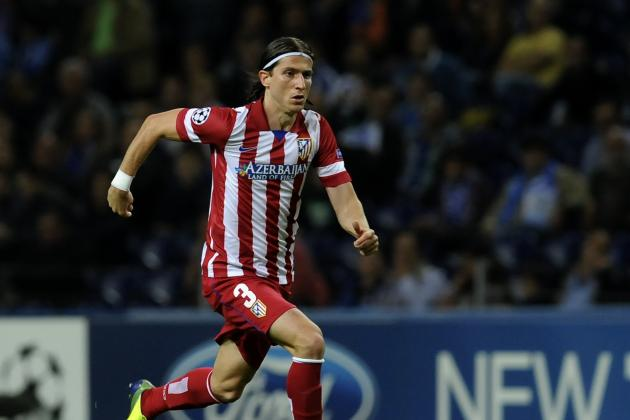 Chelsea Transfer News: Filipe Luis Bid Improved, Marcos Rojo Also Targeted