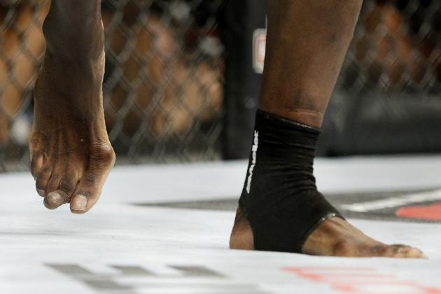 Uriah Hall Shares Picture of X-Ray of Broken Toe