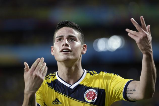 Real Madrid Transfer News: Latest on Angel Di Maria Future and James Rodriguez