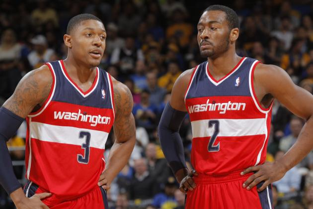 Marcin Gortat's Re-Signing Puts More Pressure on Bradley Beal, John Wall
