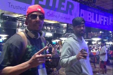 Paul Pierce Is Back in Vegas Competing in the World Series of Poker